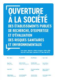 Cette charte, adoptée en 2008 et élargie en 2011 et 2016, accueille de nouveaux signatures le 27 nov. 2020.